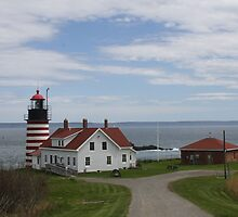 West Quoddy Lighthouse 5 by MarquisImages