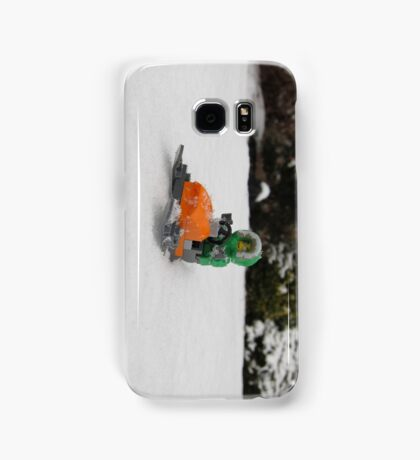 LEGO Mini Eskimo on Snowmobile Samsung Galaxy Case/Skin