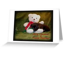 Merry Christmas ! & Happy Holidays! Greeting Card