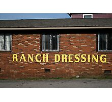 Ranch Dressing Photographic Print