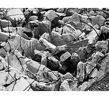 Crumbled Foundation Photographic Print