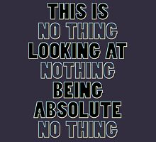 NO THING being NOTHING Tank Top