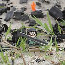 LEGO Mini Soldier in the Field of Battle by ArtShopEtc