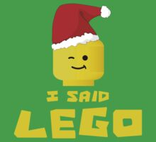 I SAID ....., by Customize My Minifig by ChilleeW