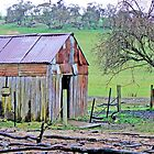 The Old Slab Shed by Graeme  Hyde