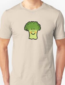 Cute veggie broccoli cartoon T-Shirt