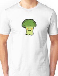 Cute veggie broccoli cartoon Unisex T-Shirt