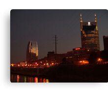 Nashville Dusk Canvas Print