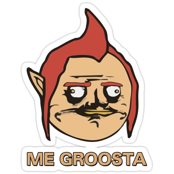 Me Groosta by theITfactor