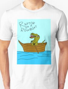 Raptor In A Rowboat T-Shirt