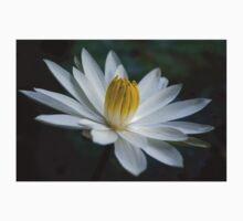 White Radial Bloom Kids Tee