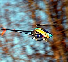 RC Helicopter by Stacy Brooks Photography
