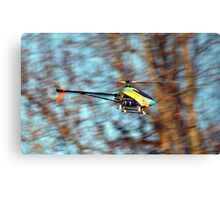 RC Helicopter Metal Print