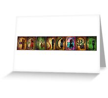 Men of Farscape Greeting Card