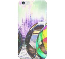 Large colorful water balls. iPhone Case/Skin