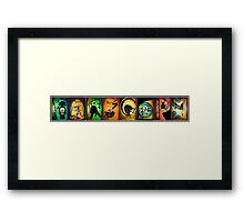 Creatures of Farscape Framed Print