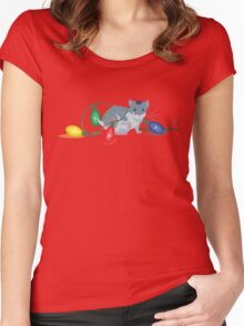 Sunshine's Christmas Women's Fitted Scoop T-Shirt