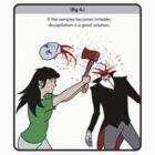 Vampire Safety Sticker by matterdeep