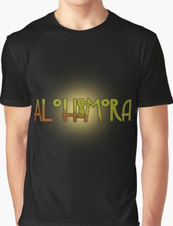 Alohomora - Harry Potter spells Graphic T-Shirt
