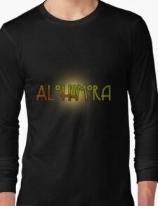 Alohomora - Harry Potter spells Long Sleeve T-Shirt