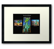 The Life of Darren Framed Print