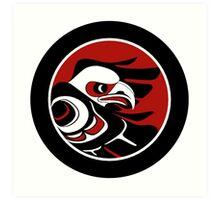 Northwest Coast Eagle Art Print