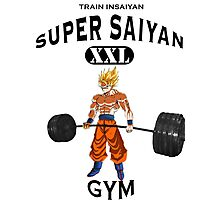 Super Saiyan Gym Photographic Print