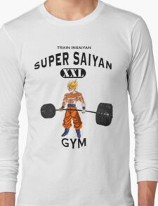 Super Saiyan Gym Long Sleeve T-Shirt