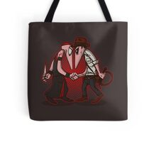 Raider VS Priest Tote Bag