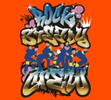 Rocksteady Crew Graffiti Tee by Bradley John Holland
