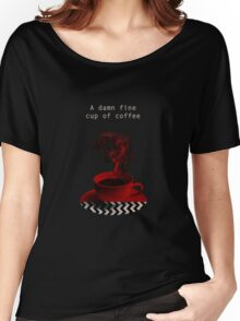 """""""Twin Peaks"""" - A damn fine cup of coffee Women's Relaxed Fit T-Shirt"""