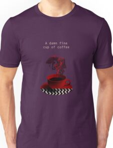 """""""Twin Peaks"""" - A damn fine cup of coffee Unisex T-Shirt"""