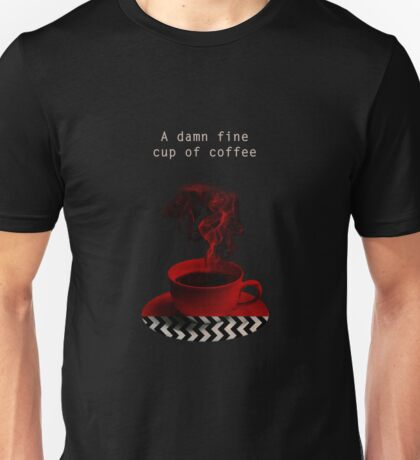 """Twin Peaks"" - A damn fine cup of coffee Unisex T-Shirt"