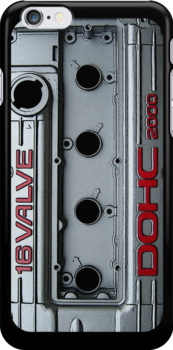 Mitsubishi Valve Cover 4G63 (iPhone) by Hector Flores