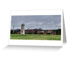 Central Wisconsin Veterans Memorial Cemetery Greeting Card