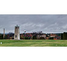 Central Wisconsin Veterans Memorial Cemetery Photographic Print
