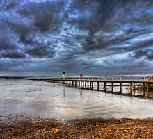 Here comes the rain by Chris Brunton