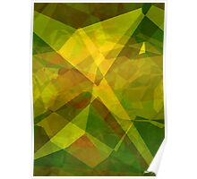 Abstract Polygons 128 Poster