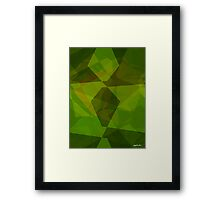 Abstract Polygons 130 Framed Print