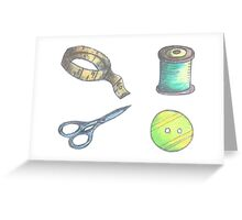 Sewing Things Greeting Card