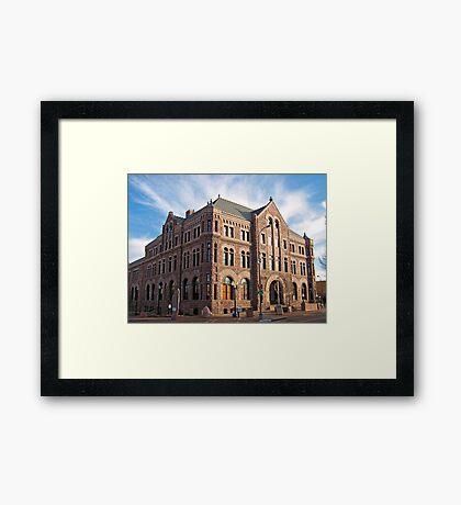 Hall of Justice Framed Print