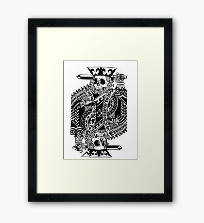 King for a day Framed Print