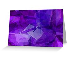 Abstract Polygons 151 Greeting Card