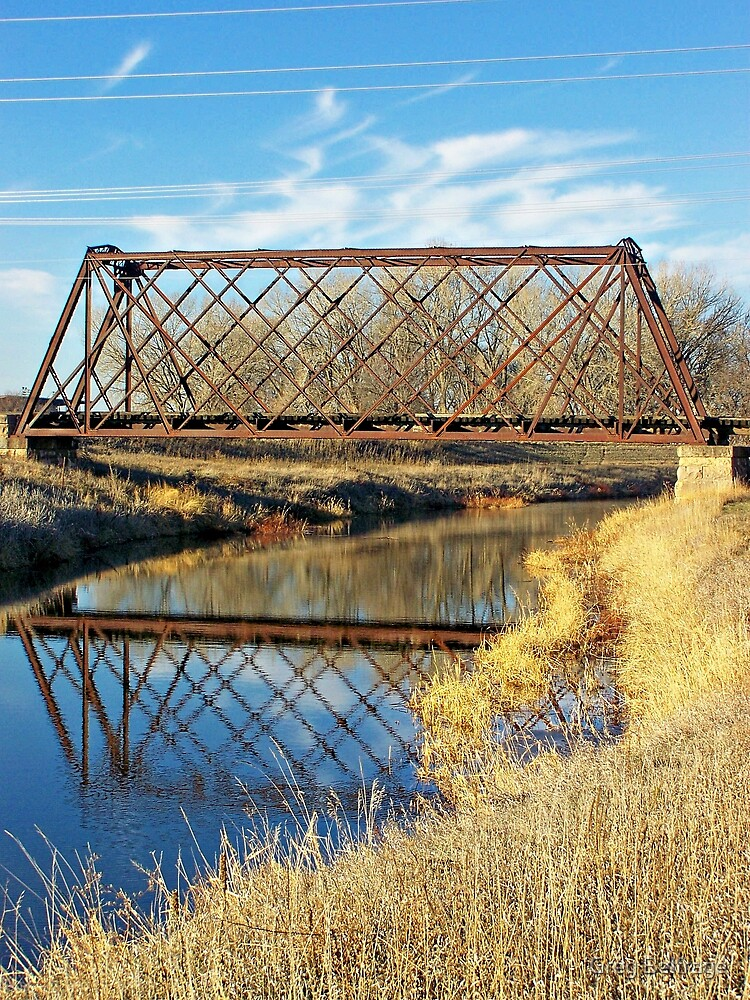 Rusty Reflection by Greg Belfrage