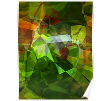 Abstract Polygons 160 Poster