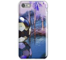 Water Ball Reflection. iPhone Case/Skin