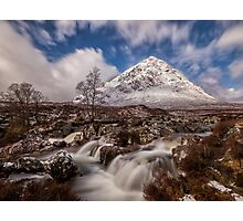 Buachaille Etive Mor at Glen Coe - Scottish Highlands Photographic Print