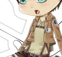Chibi Eren Sticker