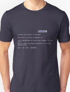 BSOD - Blue Shirt Of Death T-Shirt