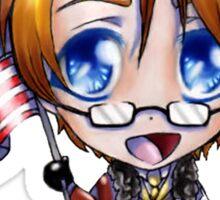 Chibi America Sticker